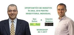 Oportunitati de investitii