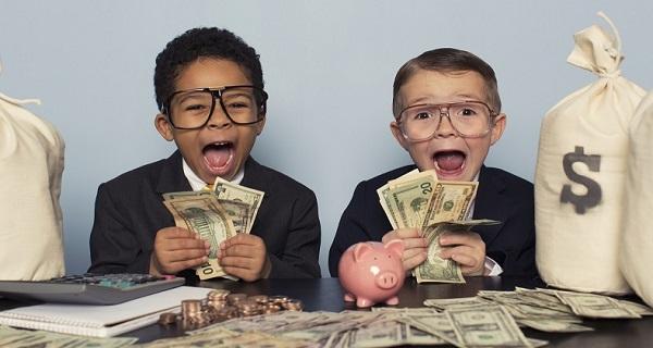 Copiii valoarea banilor