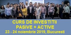 Curs de investitii pasive + active
