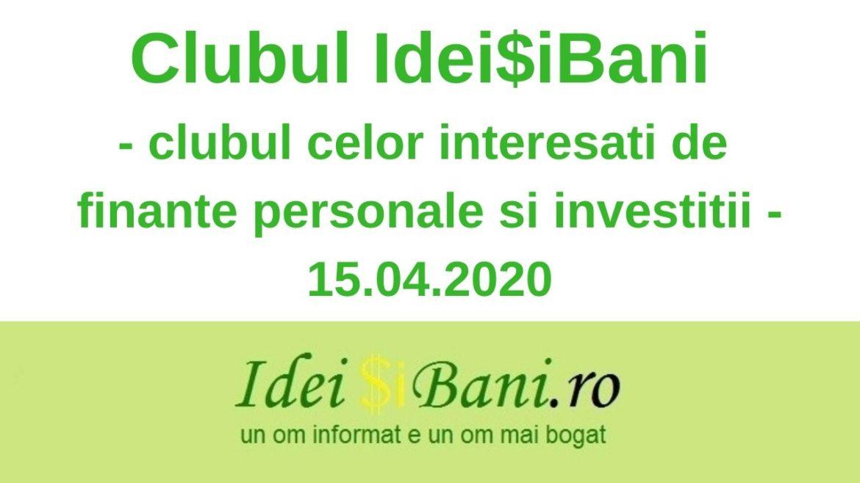 Clubul IdeiSiBani