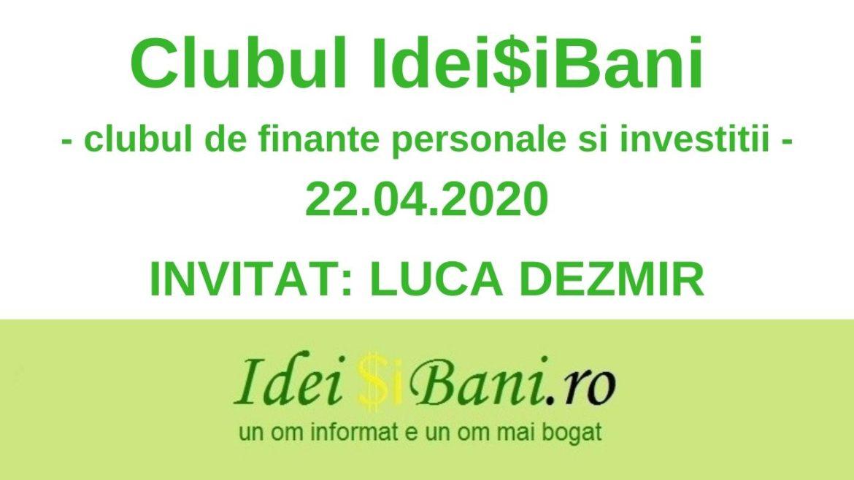 clubul ideisibani 22.04.2020