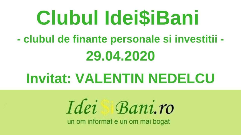 Clubul IdeiSiBani 29.04.2020