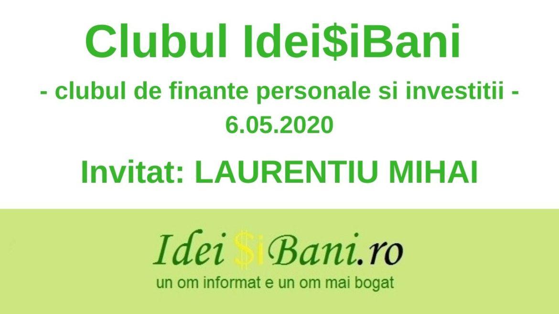 2020.05.06 Clubul IdeiSiBani