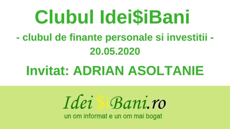 Clubul IdeiSiBani 20.05.2020
