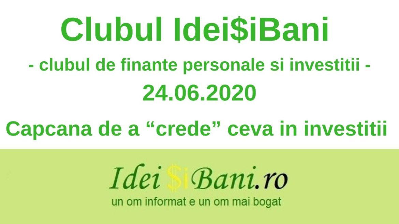 Clubul IdeiSiBani 24.06.2020