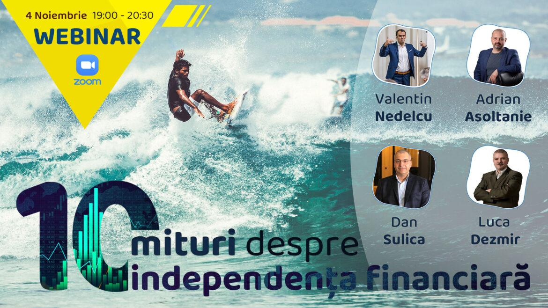 10 mituri despre independenta financiara